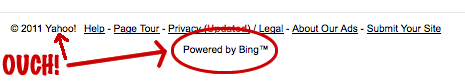 powered by bing