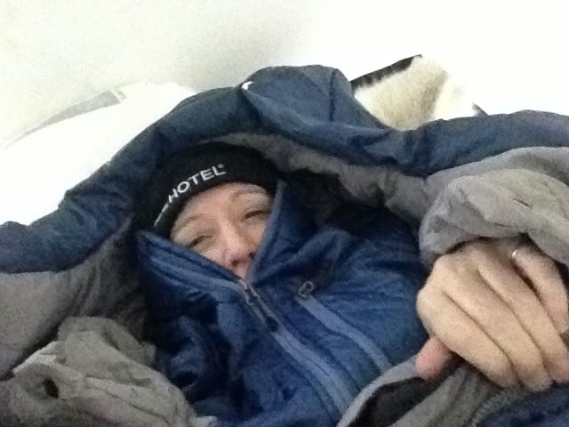 Dori Friend In Ice Hotel Sleeping Bag